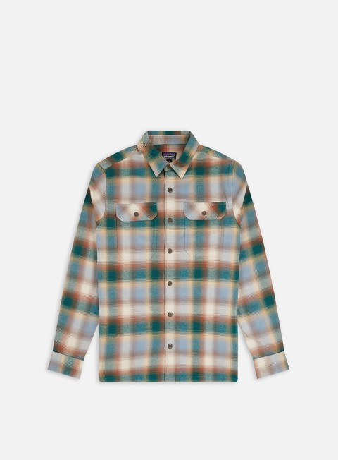 Camicie e polo a manica lunga Patagonia Organic Cotton Midweight Fjord Flannel LS Shirt