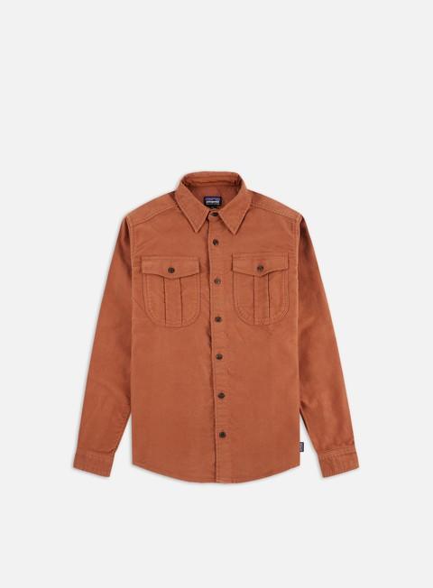 Long sleeve shirts and polos Patagonia Topo Canyon Meleskin LS Shirt