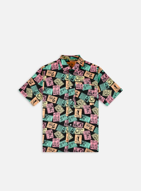 Camicie Playdude Deli & Grocery Phonebox Button-Up SS Shirt