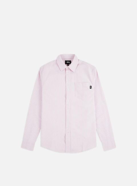 Outlet e Saldi Camicie e polo a manica lunga Stussy Crazy Button Oxford Shirt
