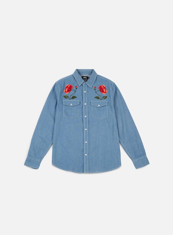 Stussy Poppy Denim Shirt