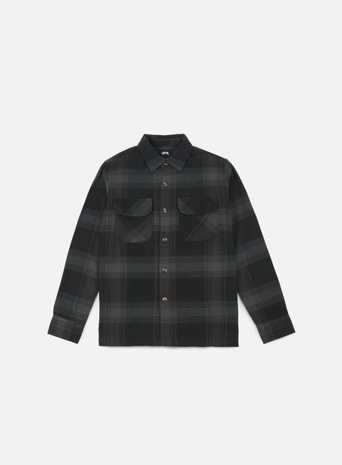 Outlet e Saldi Camicie e polo a manica lunga Stussy Shadow Plaid LS Shirt