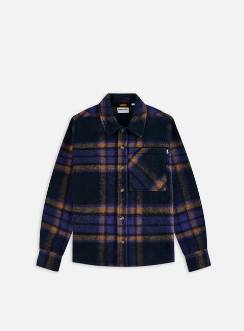 Camicie e polo a manica lunga Timberland Plaid Fleece Overshirt