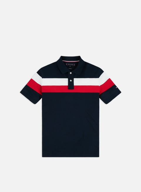Polo Tommy Hilfiger Chest Stripe Regular Polo Shirt