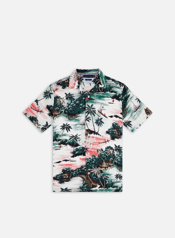 Tommy Hilfiger Hawaiian Print SS Shirt
