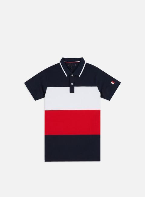 Outlet e Saldi Polo Tommy Hilfiger Icon Colorblock Slim Polo Shirt