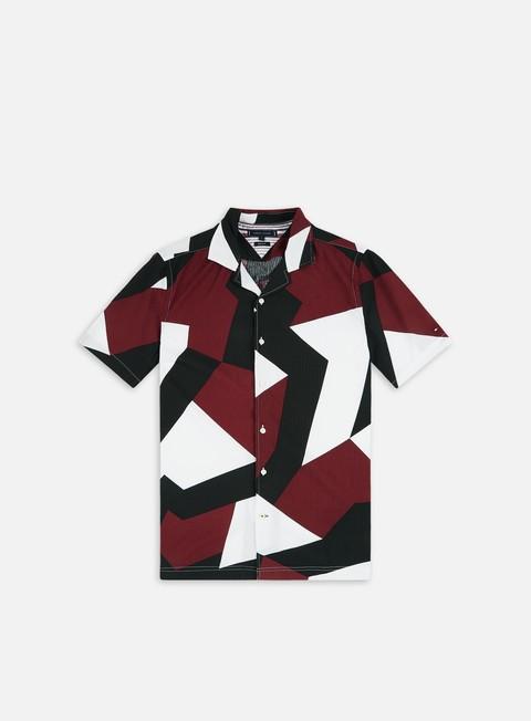 Tommy Hilfiger Large Geometric Flag Print SS Shirt