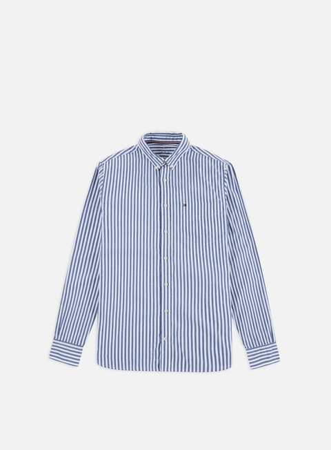 Sale Outlet Long sleeve shirts and polos Tommy Hilfiger Organic Oxford LS Shirt
