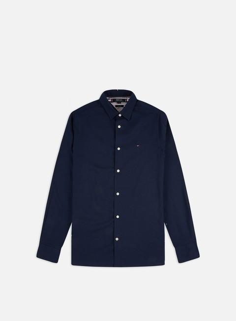Tommy Hilfiger Slim Flex Herringbone LS Shirt