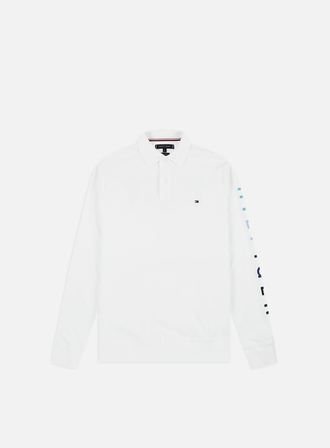 Sale Outlet Long sleeve shirts and polos Tommy Hilfiger Thny Regular LS Polo Shirt