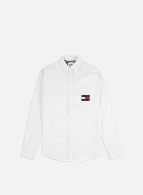 Sale Outlet Shirts Tommy Hilfiger TJ Badge Tencel Twill LS Shirt
