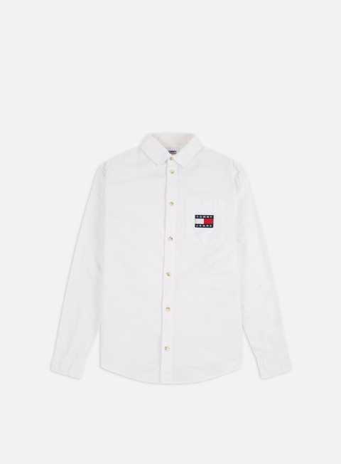Sale Outlet Long sleeve shirts and polos Tommy Hilfiger TJ Brushed Oxford LS Shirt