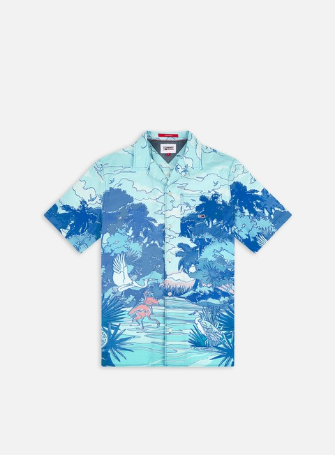 Camicie Tommy Hilfiger TJ Classic AOP Camp SS Shirt