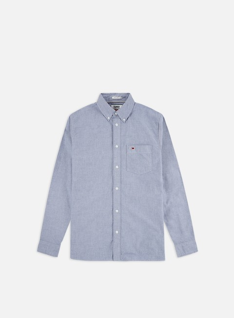 Sale Outlet Long sleeve shirts and polos Tommy Hilfiger TJ Classics Oxford LS Shirt