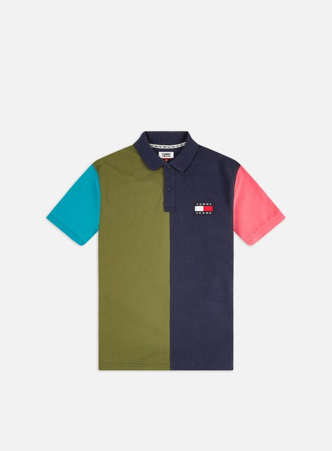 Outlet e Saldi Polo Tommy Hilfiger TJ Colorblock Badge Polo Shirt