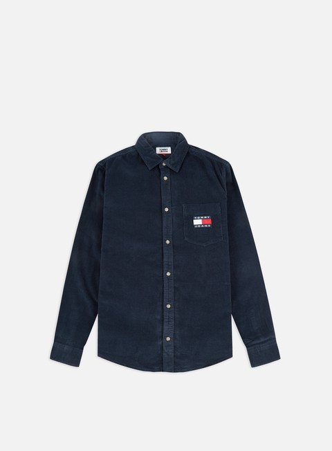 Sale Outlet Long sleeve shirts and polos Tommy Hilfiger TJ Cord LS Shirt