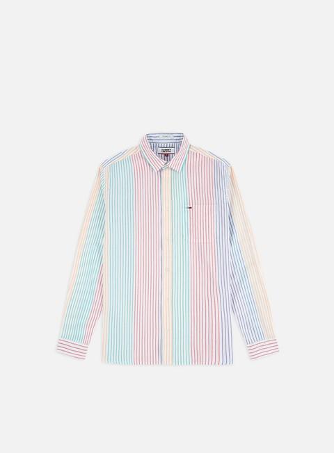 Camicie e polo a manica lunga Tommy Hilfiger TJ Dobby Stripe LS Shirt