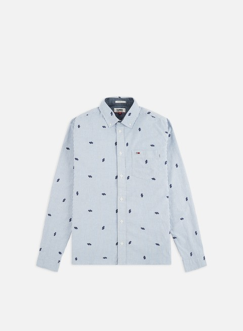 Sale Outlet Long sleeve shirts and polos Tommy Hilfiger TJ Dollarsign Shirt