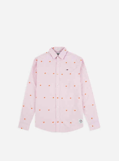 Sale Outlet Long sleeve shirts and polos Tommy Hilfiger TJ Novelty Dobby LS Shirt