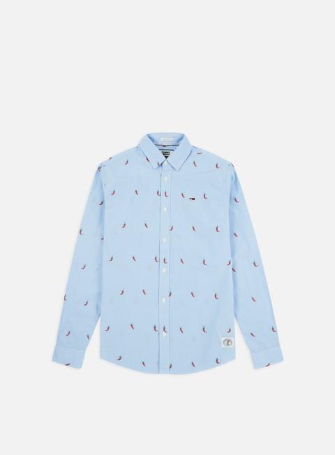 Camicie e polo a manica lunga Tommy Hilfiger TJ Novelty Dobby LS Shirt