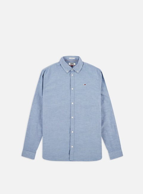Sale Outlet Long sleeve shirts and polos Tommy Hilfiger TJ Strectch Oxford LS Shirt