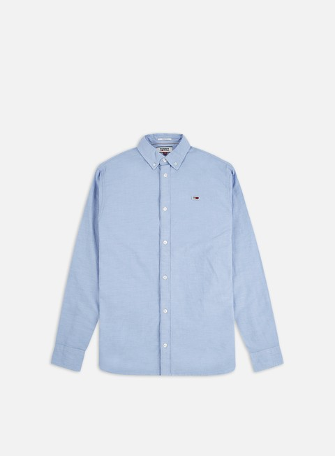 Sale Outlet Long sleeve shirts and polos Tommy Hilfiger TJ Stretch Oxford LS Shirt