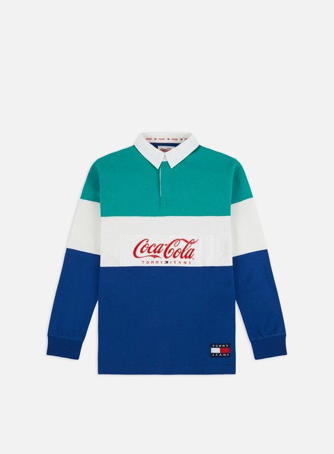 Sale Outlet Long sleeve shirts and polos Tommy Hilfiger TJ Tommy x Coca Cola Rugby Polo LS Shirt