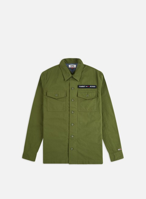 Sale Outlet Long sleeve shirts and polos Tommy Hilfiger TJ Velcro Overshirt