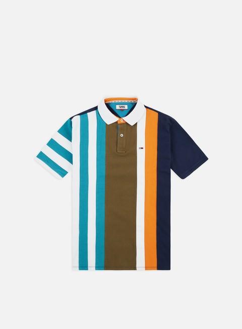 Outlet e Saldi Polo Tommy Hilfiger TJ Vertical Stripe Polo Shirt