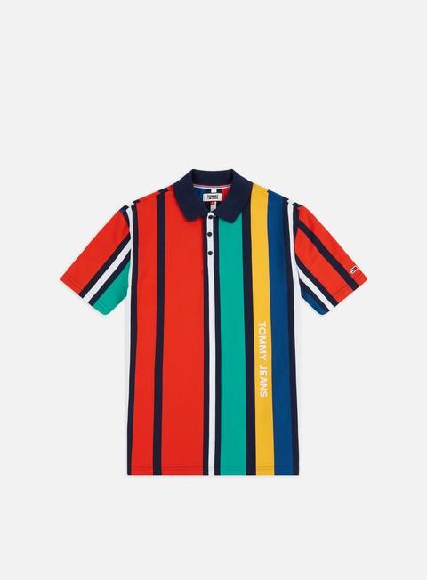 Polo Tommy Hilfiger TJ Vertical Stripe Polo Shirt