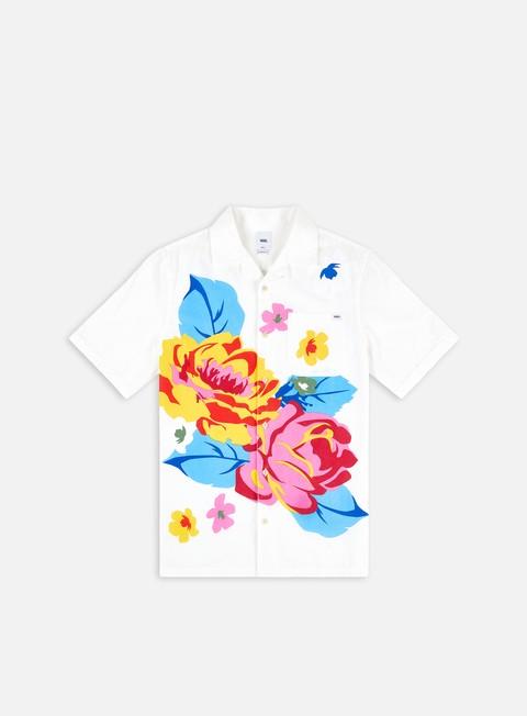 Vans Anaheim Needlepoint Floral Woven SS Shirt