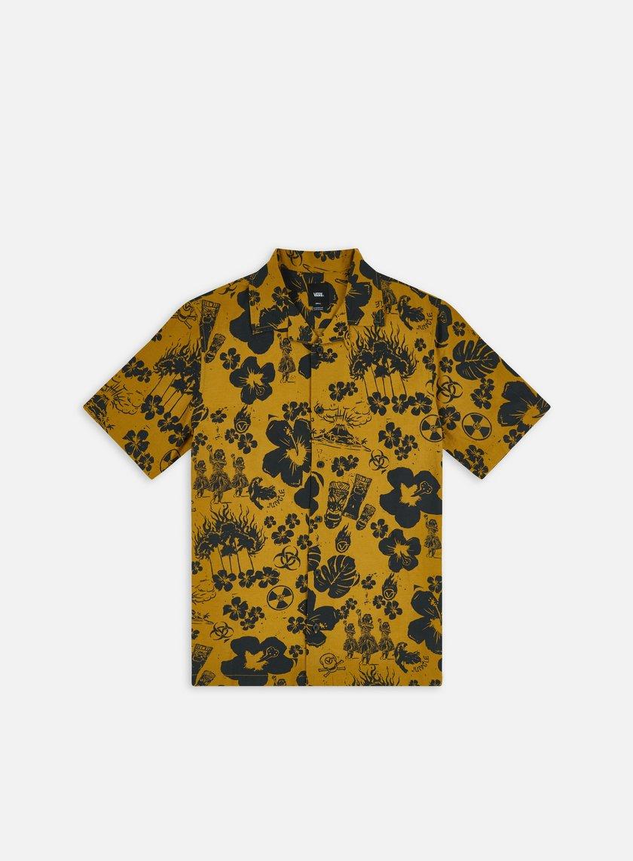 Vans Dark Aloha Woven Dried SS Shirt