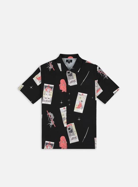Camicie a Manica Corta Edwin Tarot Deck SS Shirt