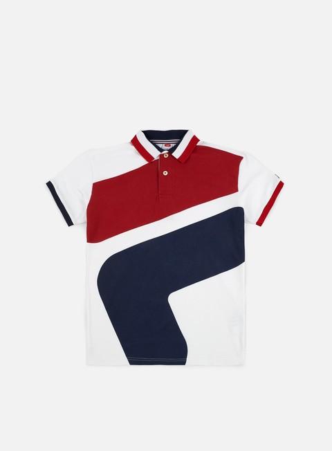 Outlet e Saldi Polo Fila Big Logo SS Polo Shirt