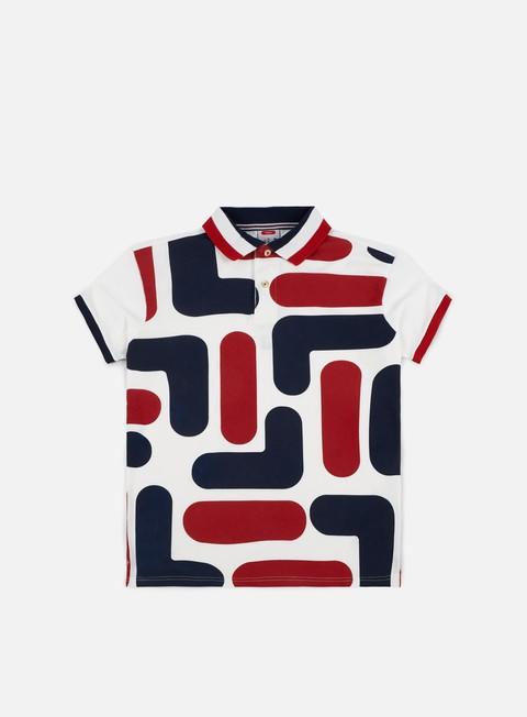 camicie fila big logo ss polo shirt combo 1