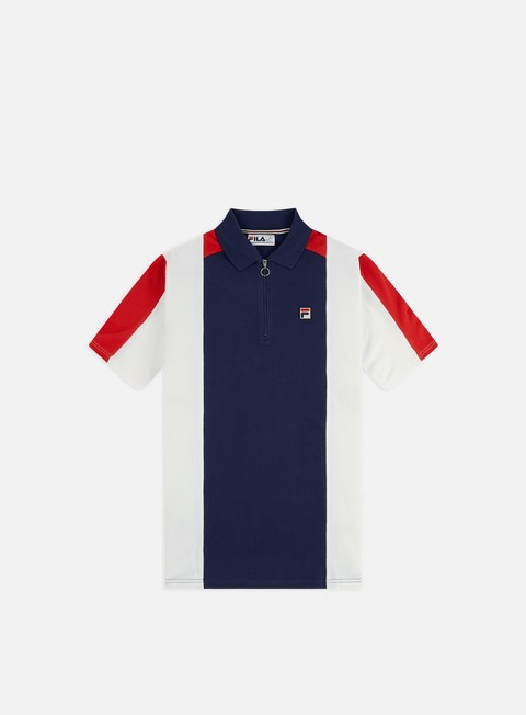 Polo Fila Zeppelin Zip Polo