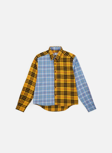 Long Sleeve Shirts Franklin & Marshall Sfera Ebbasta Checkered Shirt