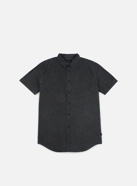 camicie globe dion cellar ss shirt black