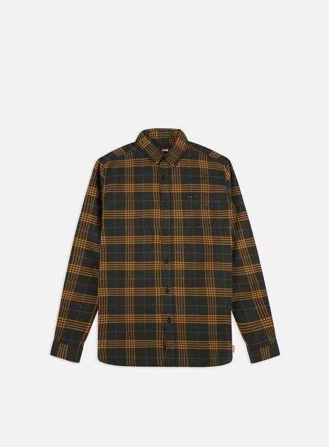 Outlet e Saldi Camicie a Manica Lunga Globe Dock LS Shirt