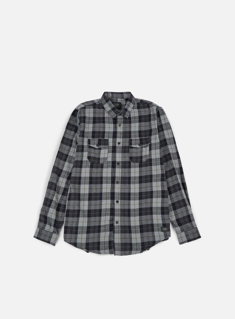 Outlet e Saldi Camicie a Manica Lunga Globe Flanigan LS Shirt