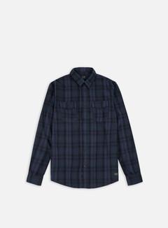 Globe - Flanigan LS Shirt, Marine 1