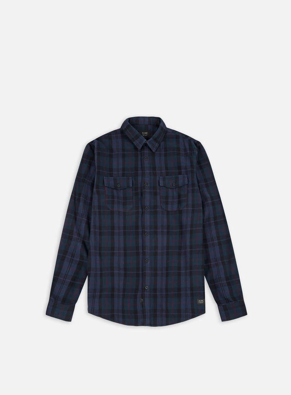 Globe - Flanigan LS Shirt, Marine
