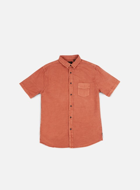 camicie globe goodstock vintage ss shirt dusty coral