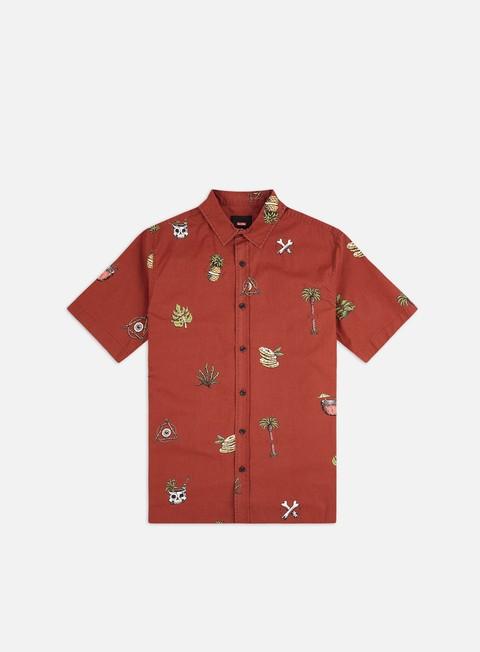 Outlet e Saldi Camicie a Manica Corta Globe Half Cut SS Shirt