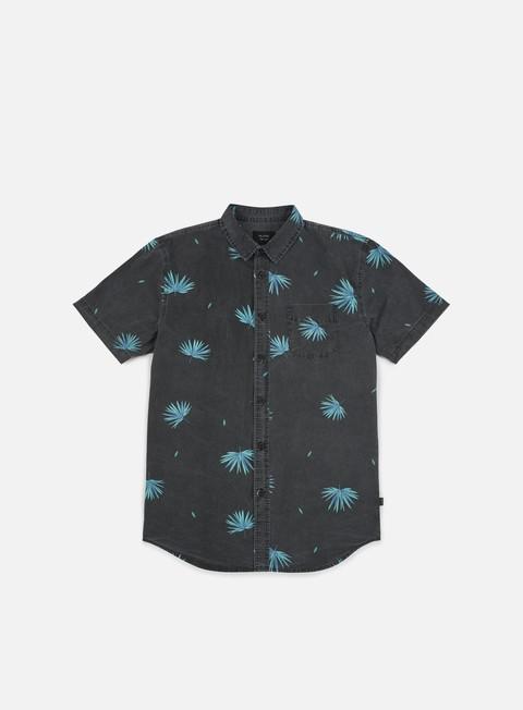 camicie globe kana ss shirt vintage black