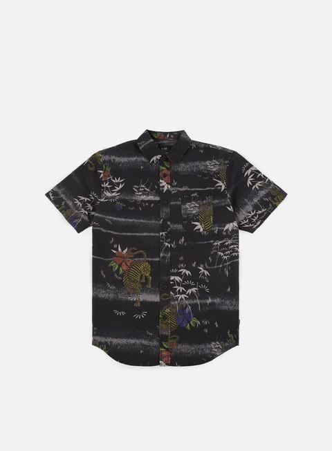 camicie globe makatza ss shirt black