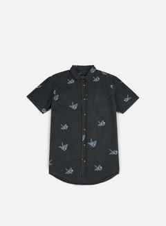 Globe - Paper Cranes SS Shirt, Vintage Black 1