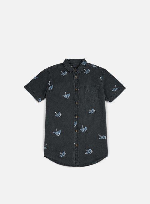 Sale Outlet Short Sleeve Shirts Globe Paper Cranes SS Shirt