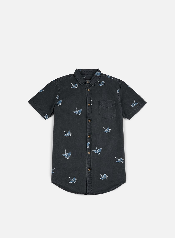 Globe - Paper Cranes SS Shirt, Vintage Black