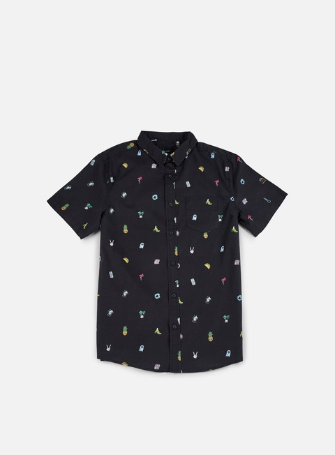 Camicie a Manica Corta Globe Pin Up SS Shirt